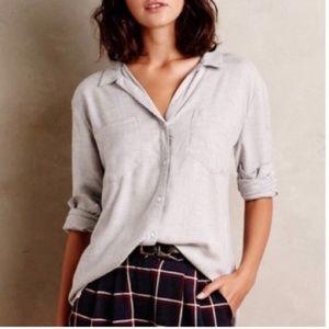 Anthro Cloth & Stone Estes Button Down Shirt
